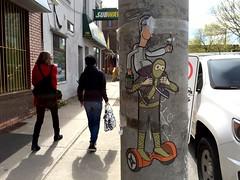 Toronto 2017 (bella.m) Tags: graffiti streetart urbanart toronto canada art wheatpaste pasteup tbonez