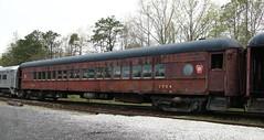 PRR Car 1704 (kitmasterbloke) Tags: tuckahoe nj usa jersey railroad tourist iutdoor transport diesel locomotive train