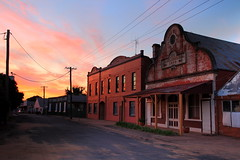 George Street Sunset (Darren Schiller) Tags: grenfell abandoned australia architecture building community clouds derelict disused decaying deserted decay dusk empty evening goldrush history heritage hall hotel longexposure newsouthwales old oddfellows rural rustic rusty smalltown sunset streetscape town