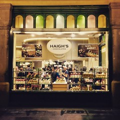 Haigh's chocolate shop at Easter (MLHS) Tags: sydney queenvictoriabuilding qvb chocolate easter window shopwindow shop haighs 2017