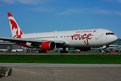C-GEOQ (rouge) (Steelhead 2010) Tags: rouge aircanada boeing b767 b767300er yyz creg cgeoq