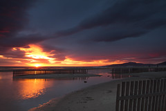 Sundown (jaocana76) Tags: tarifa atardecer sunset campodegibraltar estrechodegibraltar straitsofgibraltar strog beach playa loslances sun sol canon1635 canoneos7d jaocana76