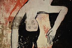 """Otoño""by David de la Mano and Pablo S. Herrero. Ciudad Vieja, Montevideo (germán :)) Tags: grafitti mural painting art street daviddelamano pabloherrero otoño autumn fall montevideo ciudadvieja freefall dreamlike"