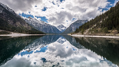 Plansee (hjuengst) Tags: plansee lake ammergaueralps reutte tirol tyrol austria österreich reflection mountain clouds thaneller