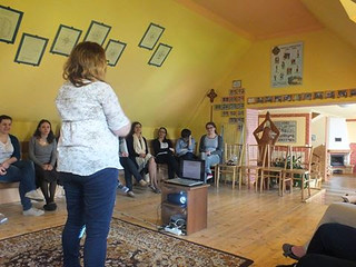 26.04.2014 - Prezentacja Diakonii Ewangelizacji podczas Szkoły Animatora - Wisła Jawornik