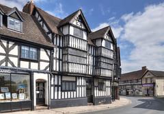 Early C17 building, Shrewsbury town centre, Shropshire (Baz Richardson (now away until 27 May)) Tags: shropshire shrewsbury timberframedbuildings 17thcenturyarchitecture gradeiilistedbuildings frankwellshrewsbury