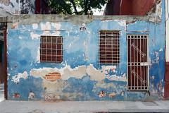Scuffed Blue (emerge13) Tags: architecture centrohabanacuba cuba habana havana havane olddoors oldhouses facades worned blue decay urbandecay saariysqualitypictures