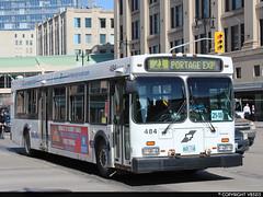 Winnipeg Transit #484 (vb5215's Transportation Gallery) Tags: winnipeg transit 1999 new flyer d40lf