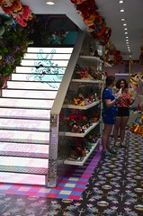 Happy Easter (Joe Shlabotnik) Tags: easterbunny staircase london irregularchoice easter bunny stairs 2017 april2017 rabbit england afsdxvrzoomnikkor18105mmf3556ged