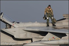 GR4-Returns-0434 (simon_x_george) Tags: 2014rafmarham tornado gr4 za477 31sqn goldstars marham raf panavia military jet aviation