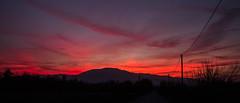 Tramonto rosa (gianKE) Tags: tramonto sunset bluehour nature skyporn sky hill mountain light sun cloud
