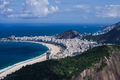 Copagabana beach - Rio de Janeiro (Angelo Petrozza) Tags: rio janeiro copagabana beach sky cielo mare sea spiaggia brazil brasile sudamerica pentaxk70 angelopetrozza