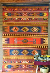 Zapotec Rug Tapete Weaving Mexico (Ilhuicamina) Tags: textiles weavings rugs tapete zapotec teotitlandelvalle oaxaca mexican