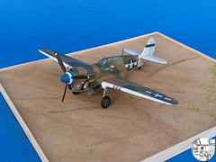 Curtiss P-40N Warhawk 49th FG 7th FS Rusty flown by Joel Paris (Seby / Sebastian Di Guardo) Tags: 49th wwii p40 warhawk model 7th rusty paris new guinea painted brushes acrylics colors