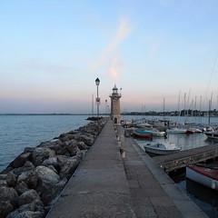 Lighthouse (Navi-Gator) Tags: lighthouse water marine garda lake italy