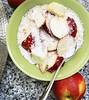Nectarine Muesli (eat.with.emmie) Tags: breakfast food foodblogger foodblog foodie muesli healthybreakfast foodlover foodies healthyfood healthy fitnessfood foodstylist foodstyling