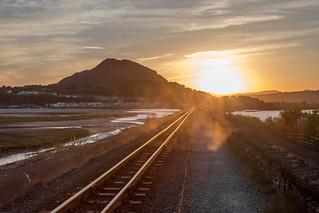 Sunset Porthmadog Railway (Explored)