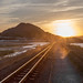 Sunset porthmadog Railway (Happy snappy nature) Tags: porthmadog sunset railway dusty tracks beautiful landscape wales outdoors