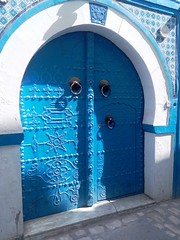 The Blue Door (Nedim 1968) Tags: kairouan tunisia traditional door details decoration
