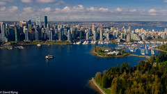 Vancouver Inner Harbour (david byng) Tags: helijet spring vancouver 2017 canada britishcolumbia city pacificocean ca