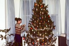 Karen with tree Christmas Charleston SC December 1977.jpg (buddymedbery) Tags: holidays charleston southcarolina years 1970s family christmas 1977 unitedstates karencrowmedbery