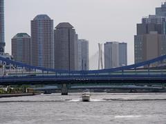 P1004137 (digitalbear) Tags: panasonic lumix gh5 sumida river kiyosumi garden eidai bridge tokyo japan sharehotel lyuro skytree fukagawameshi miyako yakatabune