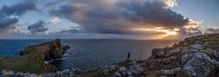 Lighthouse Sunset (Mark Alan Andre) Tags: markalanandre scotland travel unitedkingdon neist point lighthouse sunset ocean landscape
