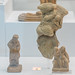 Locri, Grotta Caruso: miniature terracotta figures of actors(?) and lovers(?)