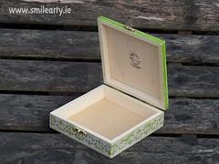 Vintage Roses Box (Smile Arty) Tags: gift present vintage handmade decoupage crafts arts diy roses box wood