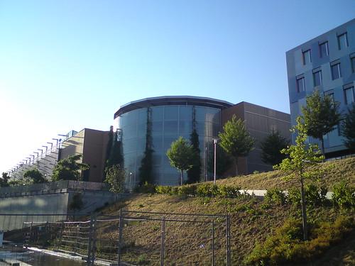 Parkhaus vom Scheck-In Center Karlsruhe