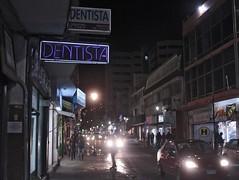 Pachuca and the wonderful 90s (bransilva) Tags: city cristal drugs lsd weed dentista dentist mexico peligro no hay building 90s vintage contemporaneo brand silva flower street tiendas store night