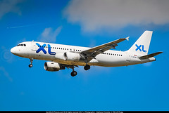 """CDG.2008 # XL - A320 C-GTDP """"Skyservice Airlines"""" awp (CHR / AeroWorldpictures Team) Tags: xl airways france airbus a320214 cn 1780 engines cfmi cfm565b4p reg cgtdp history aircraft first flight test fwwdn built site toulouse tls delivered mytravelairways dk vkg leased ilfc oyvkl tsf skyserviceairlines 5g ssv lease xlairways summer 2007 2008 2009 return n471lf tsfd interjet 4o aij xavfi canadian mexican airlines landing a320 planespotting paris cdg lfpg nikon d80 zoomlenses 70300vr nikkor lightroom raw awp"""