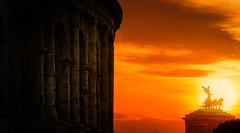 Roma Victor (Juan Figueirido) Tags: colisseum coliseo roma rome lazio itaia italy romavictor travel sunset puestadesol summer verano panasonic fz1000