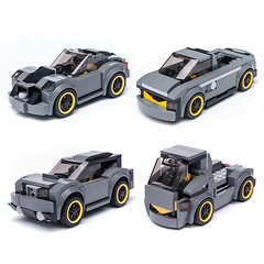 75877 = 4in1 (KEEP_ON_BRICKING) Tags: lego speed champions moc set legoset alternate build car vehicle supercar race suv truck pickup keeponbricking 75877 2017 new design