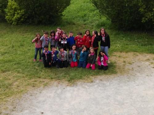 Campamento S.Santa - Castores y Exploradores - Viodo 2017