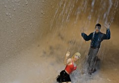 The Deluge (ricko) Tags: water deluge flood couple toys rain