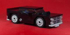 Banshee 700 NR (EliteGuard01) Tags: lego ldd legodigitaldesigner banshee nr supercharged nurburgring sportscar musclecar pontiacgto moc redbackground black sideexhaust minifigure racing automotive car coupe spoiler 2009 hoodscoop