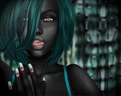 Otherworldly Girls Like Manicures Too (lauragenia.viper) Tags: bento chloe darkstylefair dulcesecrets lelutka lumae lumipro secondlife secondlifefashion swank tameless we3roleplay welovetoblog zoz avatar alien otherworldly extraterrestrial fantasy closeupportrait nails nailpolish manicure dark