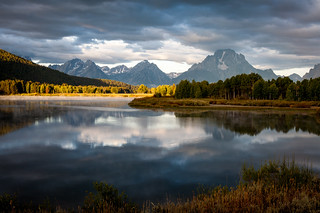 Morning Spotlight at Oxbow Bend
