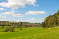 A View Of The Farmlands  & Woodlands Of The Severn Valley (williamrandle) Tags: severnvalley arleyarboretum worcestershire england uk 2017 spring riversevern farmland woodland fields crops trees plants green bluesky clouds sunshine beauty outdoor landscape nikon d7100 sigma1835f18art