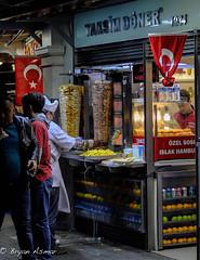 Takisim Döner (Turkey Istanbul) (bryanasmar) Tags: taksim döner vendor street istanbul turkey fuji xt20 xf3514