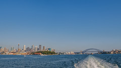 Sydney Cityscape (Anthony's Olympus Adventures) Tags: sydney australia nsw newsouthwales sydneyharbour sydneyharbourbridge sydneyoperahouse syd cityscape cityview city cbd water portjackson olympusem10 olympus olympusomd microfourthirds photo photography photogenic photograph wow beautiful amazing iconic stunning nice raw lightroom flickraward flickr travel urban skyline pano manlyfastferry boat