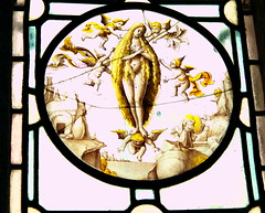 Sacred Eroticism (1) (Phancurio) Tags: stmichaelsmount chevychase stainedglass virginmary eroticism assumptio sacred heaven