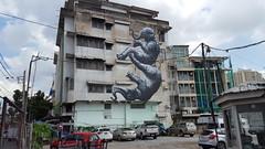 street art,  bangkok,  thailand (billywhiz07) Tags: streetart grafitti bangkok thailand elephants chang buildingart
