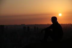 IMG_2247 (BrellLi) Tags: taiwan taipei taipei101 xiangshan 象山 六巨石 sunset 日落 canon6d sigma24105mmart silhouette