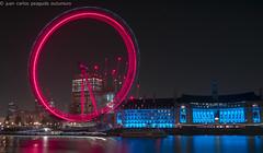 London Eye (j.c peaguda) Tags: londres london londoneye noria ulldelondres ull noche