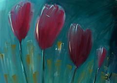 """Tulip Garden (""""Jimmer"""" ( http://jim-vance.pixels.com )) Tags: garden tulips flowers"""