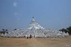 Hsinbyume Myatheindan Pagoda (Karnevil) Tags: asia southeastasia seasia myanmar burma migun mandalay mingunsayadaw mingunpahtodawgyi hsinphyumaepagoda kyipinvillage myingyandistrict mandalaydivision britishburma settayapaya nikon d610 petekreps