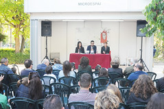 Beatriz Jiménez, Manel Álamo i Dolors Pedrós 01/05/2017