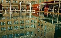 Saint Anthony's Roof Top Swim (billrock54) Tags: saintanthonyhotel sanantonio texas luxury vacation artistbillrockwell reflection pool swim downtown shadows ghosts alamo hauted